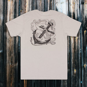 Anchor + Octopus - Relaxed Fit Tee