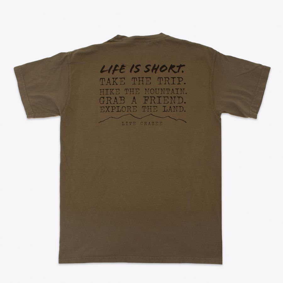 Explore the Land Quote Tee