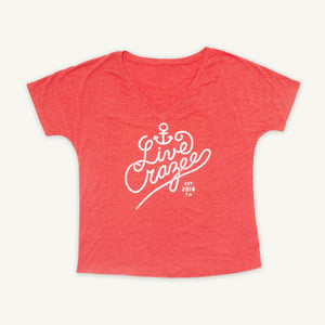 FINAL SALE : LC Anchor V-Neck *Women*
