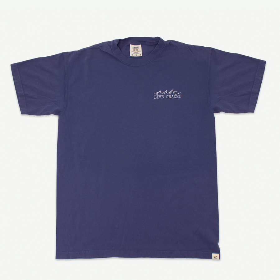 Explore the Sea Quote Tee