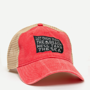 Pirate Flag Garment Dyed Hat