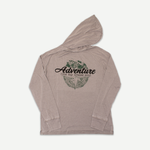 Vintage Wash Land Adventure Hood