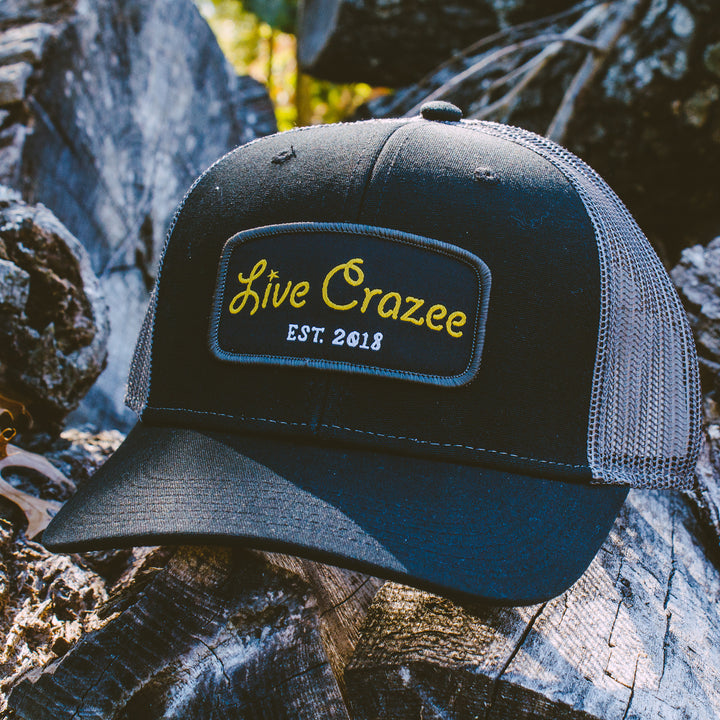Live Crazee Patch Hat