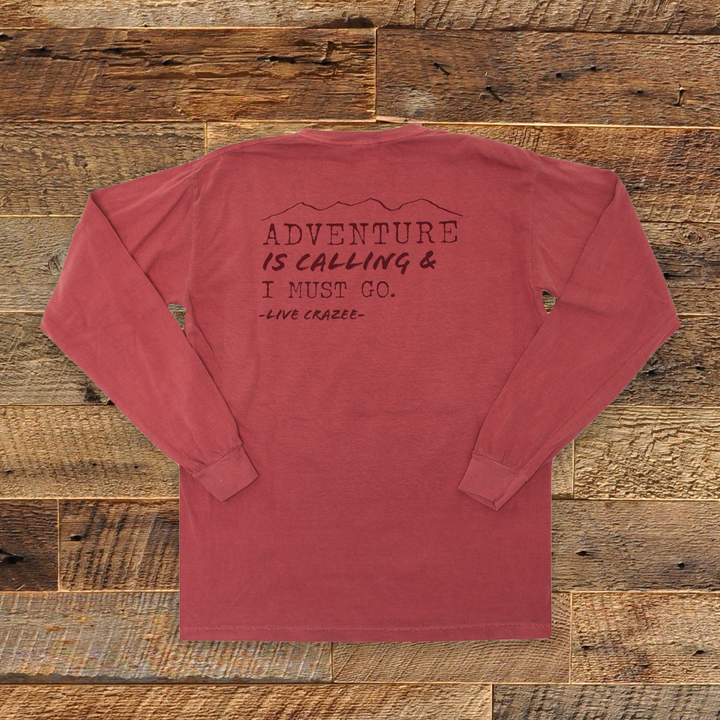 Adventure Is Calling Long Sleeve