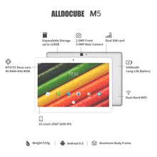 Load image into Gallery viewer, Alldocube M5 Android Tablet