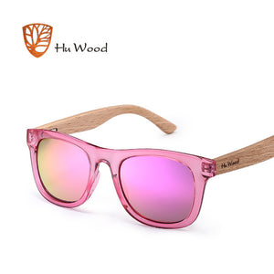 Designer Children Wooden Multi-Color Sunglasses - Slappable Shades