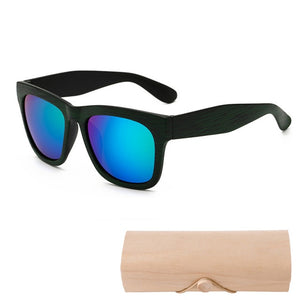 Very Cool Stylish Wooden Sunglasses - Slappable Shades