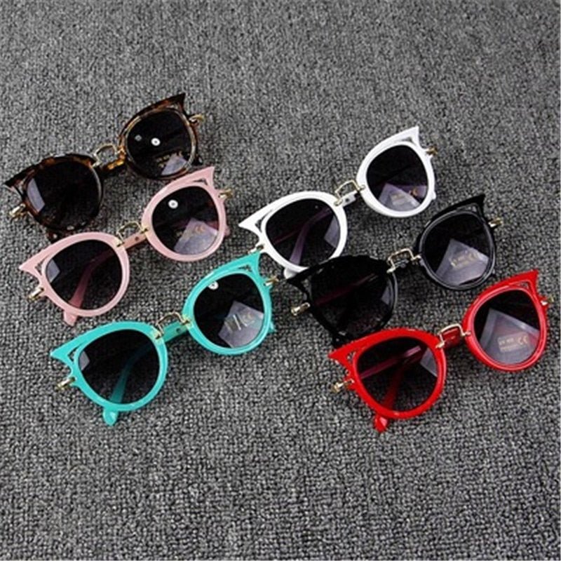 2019 Cute Kids Cat Eye Sunglasses - Slappable Shades