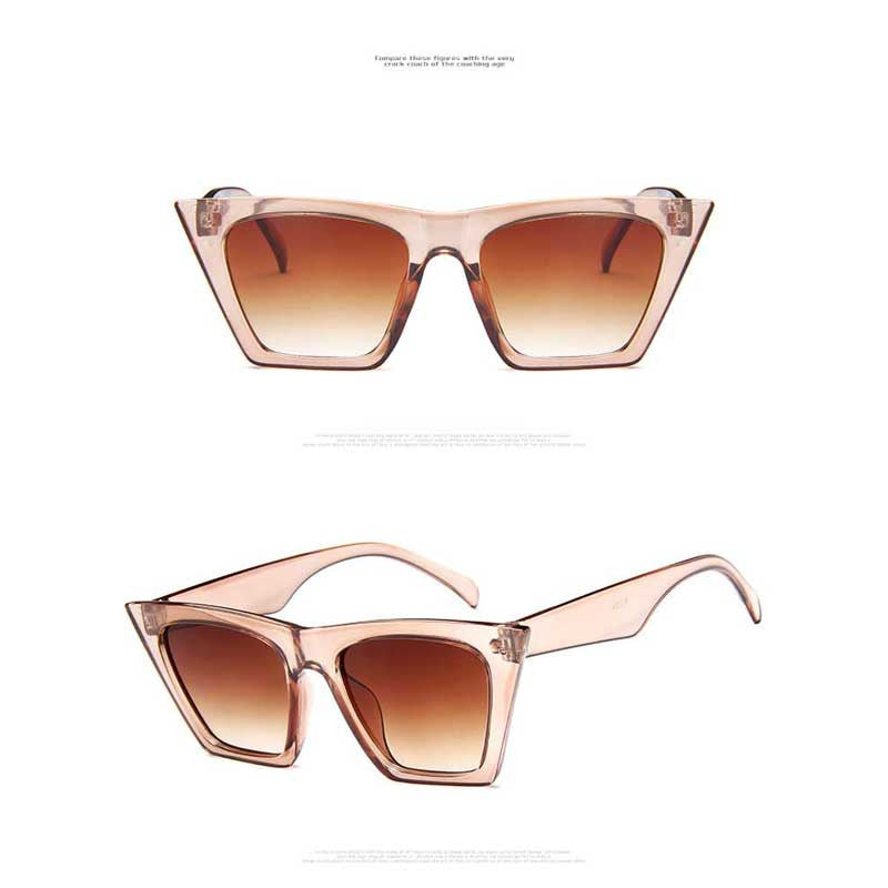 Trendy 2019 Cat Eye Sunglasses Unisex - Slappable Shades