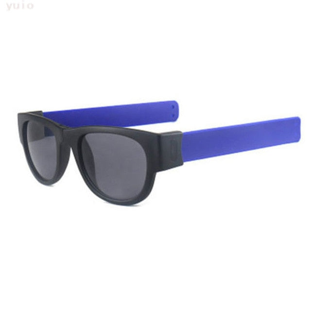 Slappable Shades Fashion Sunglasses that Snap to Head and Slap on Wrist - Slappable Shades