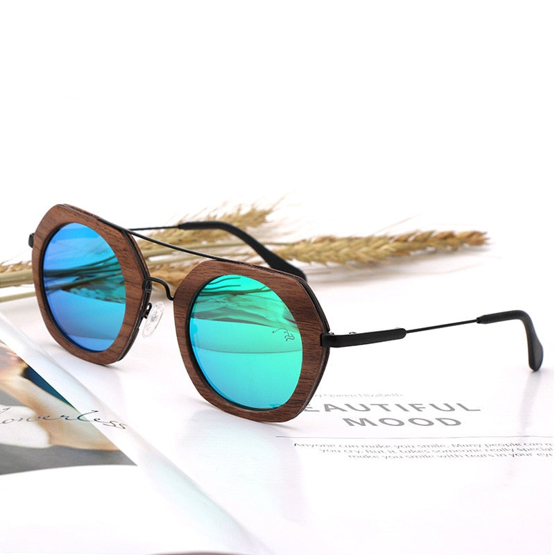 UNIQUE DESIGN 2019 Vintage Wooden Sunglasses - Slappable Shades