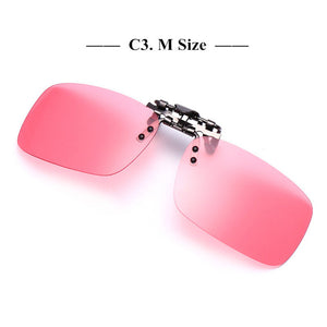 Polarized Floating Retro Rimless Clip-on Fishing Sunglasses - Slappable Shades
