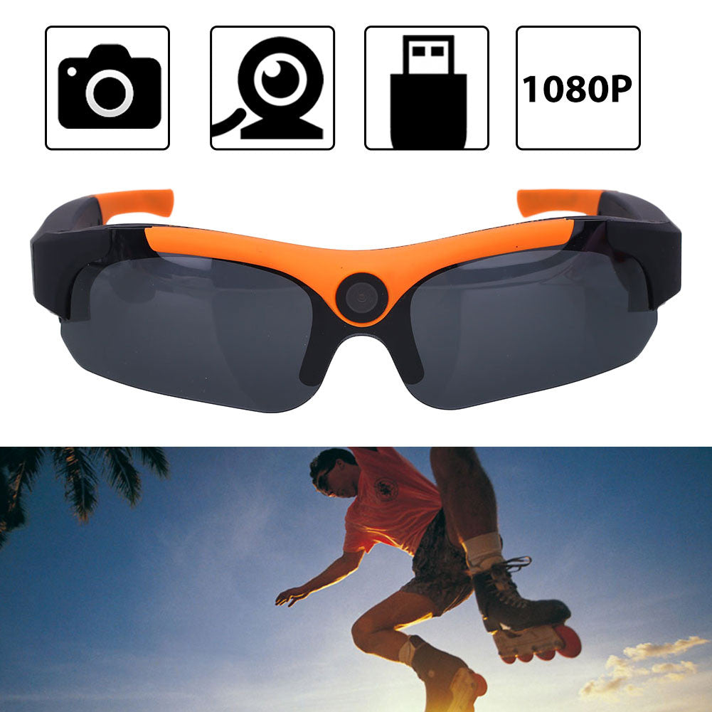 HD 1080P Panoramic Sunglasses - Slappable Shades