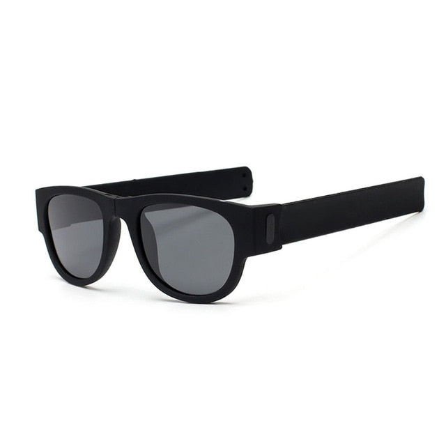 Slappable Shades Polarized Folding Slap Sunglasses - Slappable Shades