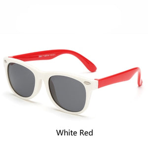 NEW Cute Flexible Kids Sunglasses - Slappable Shades