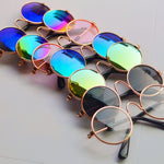 Stylish Round Sunglasses For Pets and Dolls - Slappable Shades