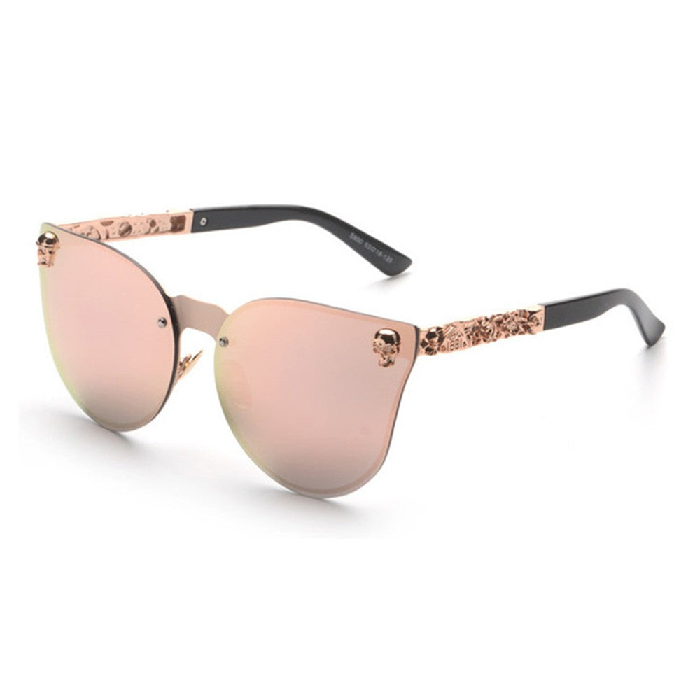 Brand New for 2019 RTBOFY Rimless Cat Eye Women Sunglasses - Slappable Shades