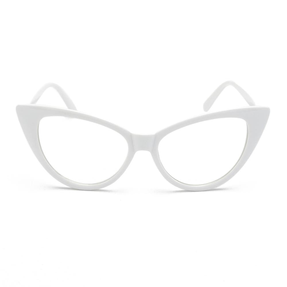 Retro Inspired Unisex Cat Eye Sunglasses - Slappable Shades