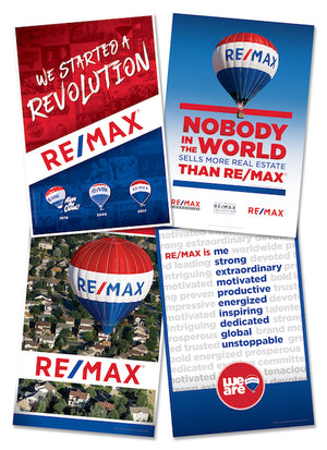 RE/MAX ASSORTED POSTER PACK (x4 PACK)