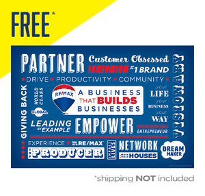 RE/MAX A BUSINESS THAT BUILDS BUSINESSES (FREE* POSTER)
