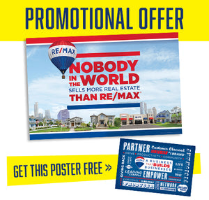 RE/MAX - NOBODY IN THE WORLD (SKYLINE HORIZONTAL) POSTER
