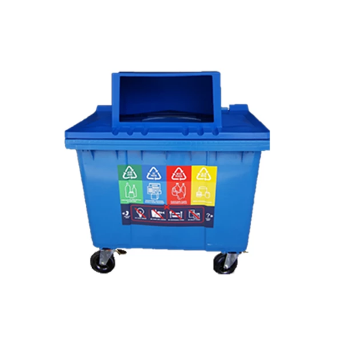 MGB660L with Turbo Lid Recycling Bin