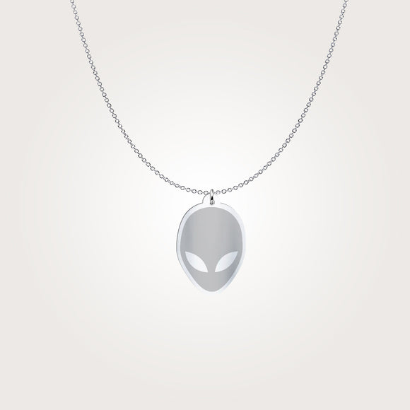 Alien Head Pendant
