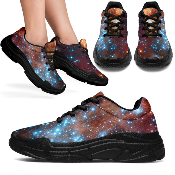Blue Star Nebula Sneakers