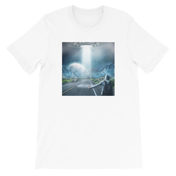 Galaxy Hitch Hiker Unisex T-Shirt