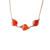 Carnelian Zodiac Necklace for Taurus | 4/20 - 5/20