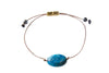 Blue Crazy Lace Agate Gemstone Bracelet for Joy - All One