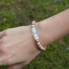 Opaline Crystal Be Your Own Hero Bracelet for Super Mom