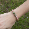 Unakite Be Your Own Hero Bracelet for Be Balanced