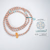 Citrine & Amazonite Gemstone Manifest MALA