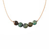 African Turquoise Gemstone INTENTION Necklace for Growth