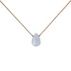 Blue Lace Agate Luxe Necklace for Confidence