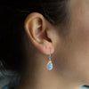 Opaline Crystal Soul-Full of Light Earrings for Motherhood