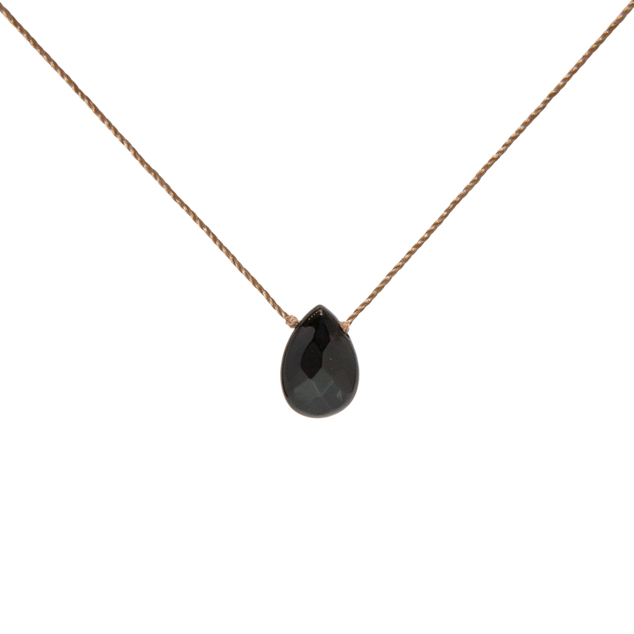 onyx necklace jewelry product black glitters fine