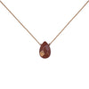 Brown Goldstone Gemstone Soul-Full of LIGHT Necklace for Ambition