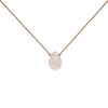 Rose Quartz Gemstone Soul-Full of LIGHT Necklace for Unconditional Love