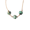 Sagittarius ZODIAC Necklace with African Turquoise Gemstones | 11/22 - 12/21