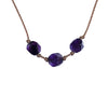Aries ZODIAC Necklace with Amethyst Gemstones | 3/21 - 4/19