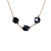 Leo ZODIAC Necklace with Black Onyx Gemstones | 7/23 - 8/22