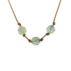 Libra ZODIAC Necklace with Prehnite Gemstones | 9/23 - 10/22