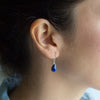 Lapis Lazuli Soul-Full of Light Earrings for Clarity