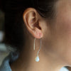 Opaline Crystal Soul-Full of LIGHT Long Earrings to Celebrate and Honor the Journey of Motherhood