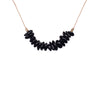 Black Tourmaline Gemstone SEED necklace for Cleanse & Protect