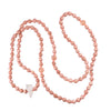 Sea Foam Quartz & Sunstone Gemstone Embrace MALA