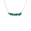 Turquoise Seed Necklace for Friendship