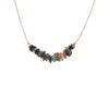 Tourmaline Gemstone SEED necklace for Happiness